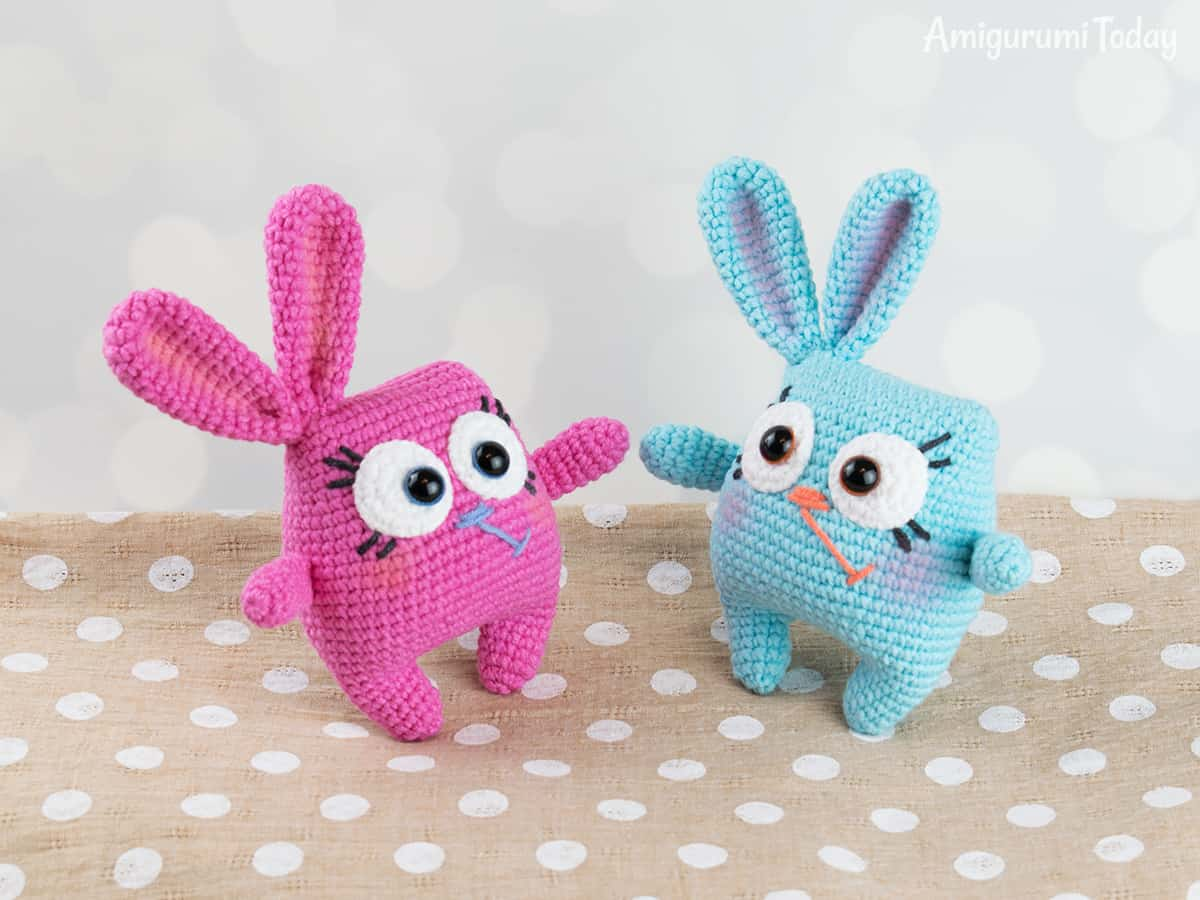 Ridiculously Cute Easter Bunny Amigurumi ... Yup, There's a Pattern, It's FREE!