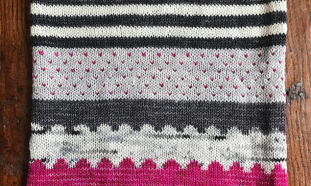 Knit a Lots Of Hearts Cowl Designed By PostStitch