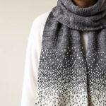 Free Pattern Alert: Knit a Falling Snow Scarf Designed by Purl Soho