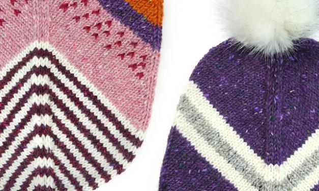 New Hat Cap Patterns By Steffi Hochfellner, Dedicated to Lieutenant Uhura!