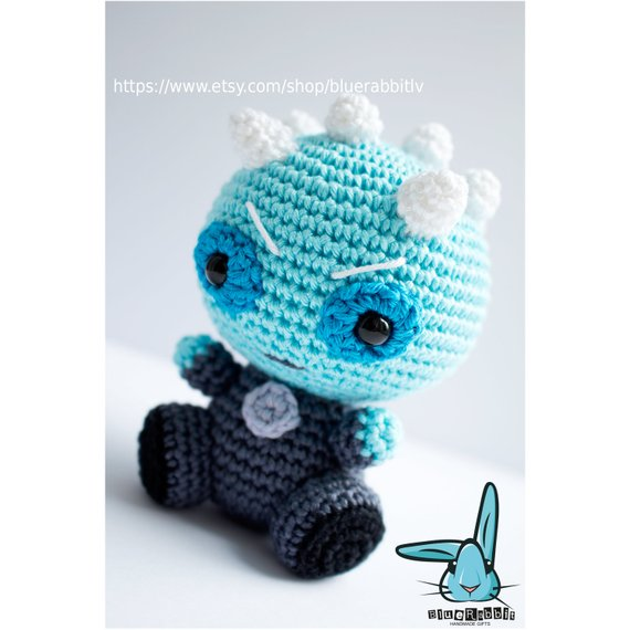 Crochet a Night King Amigurumi, You've Never Seen a White Walker Looking So Cute!