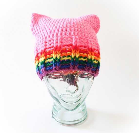 Get the pussy hat pattern