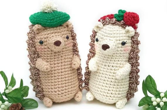 Happy Hedgehog Day! Crochet an Adorable Amigurumi and Celebrate The Cute!