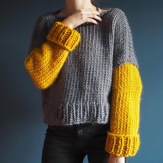 Knit Your First Sweater With This Easy Pattern, Perfect For Beginners!