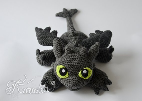 10 Free Dragon Crochet Patterns • Oombawka Design Crochet | 406x570