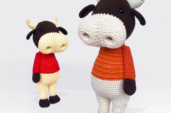Crochet a Ringo The Bull Amigurumi … How Cute Is This Guy?