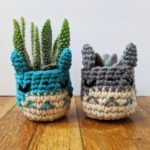 Everyone Needs a Tiny Totoro Planter! Crochet One For Someone You Love Today!
