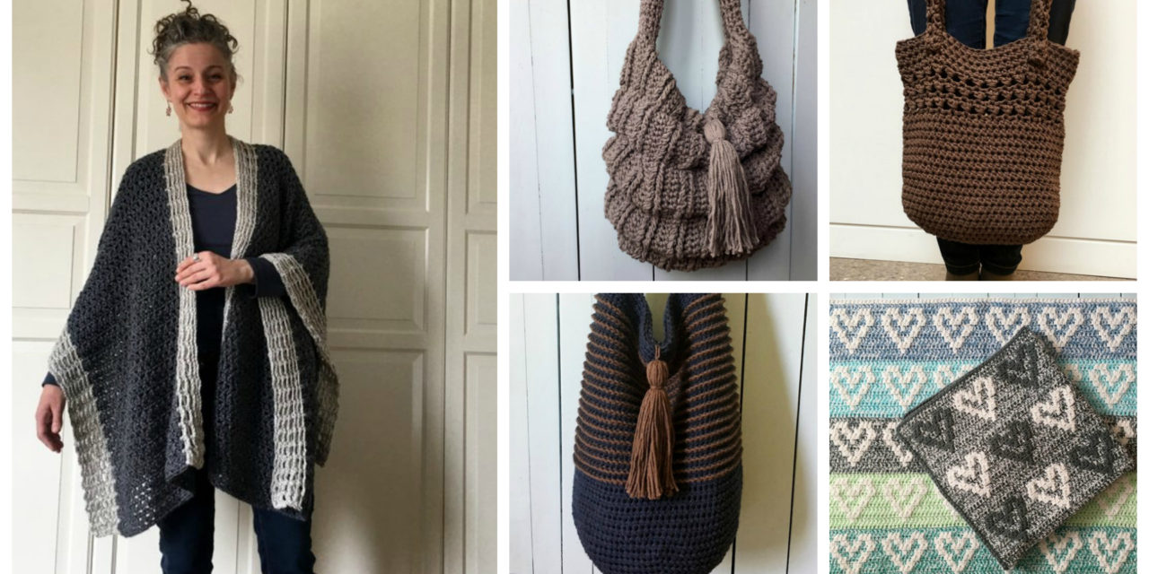 Designer Spotlight: Crochet Market Bags and More … Patterns Designed By Sonja Hood of Knot Yourself Out