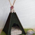 Crochet a Kitty-Cat Teepee, The Pattern is FREE!