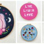 Designer Spotlight: The Best Embroidery Kits and Patterns By Oh Sew Bootiful … And Yes, They're Oh So Beautiful!