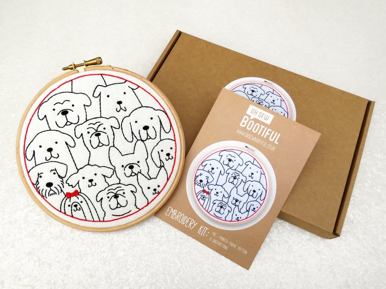 Embroidery Kit By Oh Sew Bootiful
