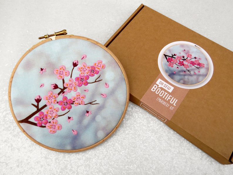 Designer Spotlight: The Best Embroidery Kits By Oh Sew Bootiful ... And Yes, They're Oh So Beautiful!