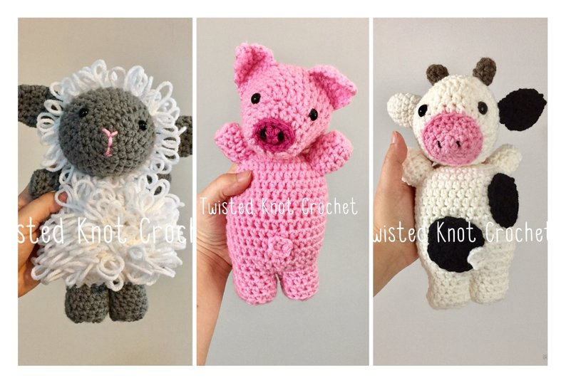 Get the pattern from TwistedKnotCrochet