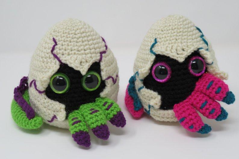 Crochet a Cute Hatching Dragon Egg Amigurumi … Adorable!