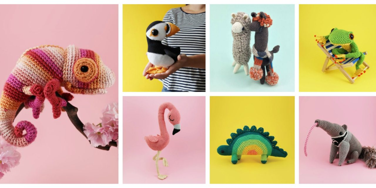Designer Spotlight: Cute and Curious Amigurumi Patterns By Irene Strange