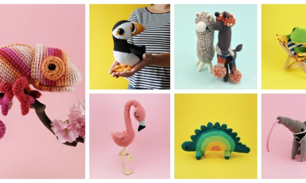 Designer Spotlight: Cute and Curious Amigurumi Patterns By Irene Strange