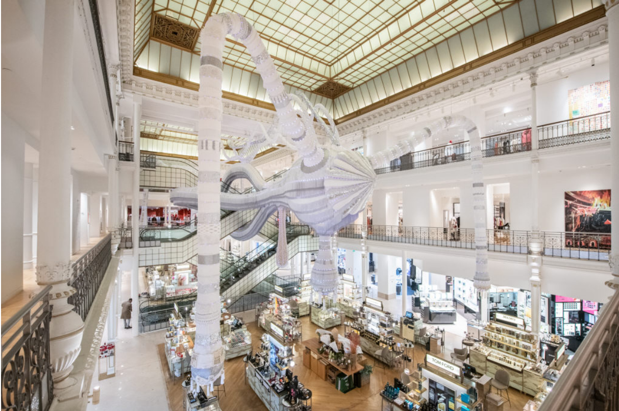 Portuguese Artist Joana Vasconcelos' New Installation is Colossal Both in Size and Spirit