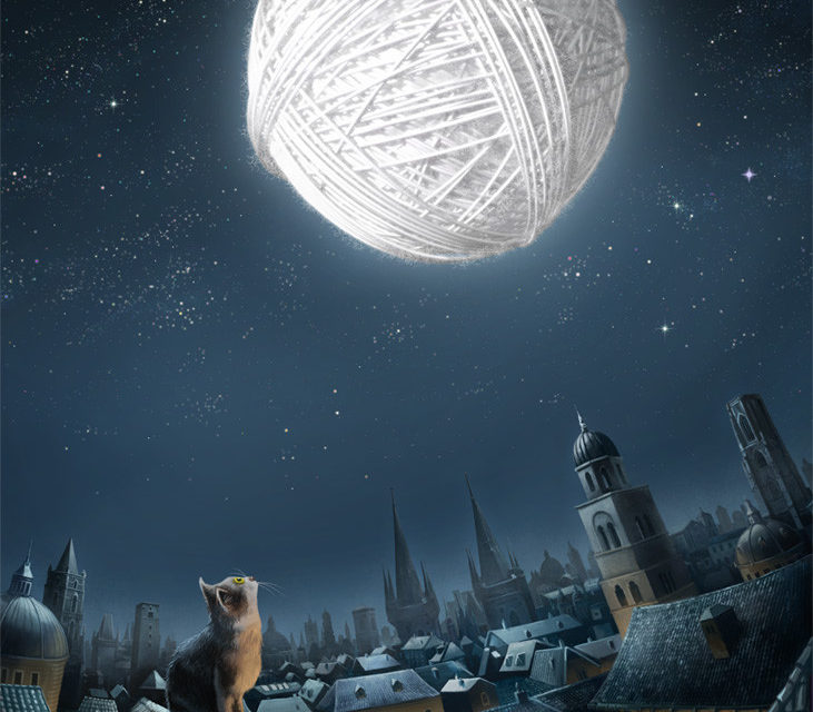 Zmiro the Cat Dreams of a Brighter World For His Yarn-Loving Feline Friends ….