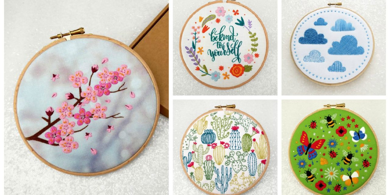 Designer Spotlight: The Best Embroidery Kits By Oh Sew Bootiful … And Yes, They're Oh So Beautiful!