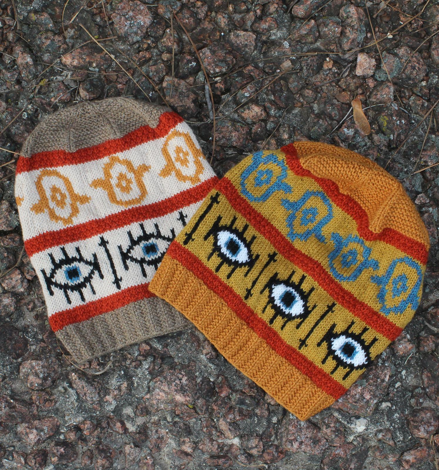Knit a 'TfuTfuTfu' Hat ... Free Pattern Designed by Limor Hendricks