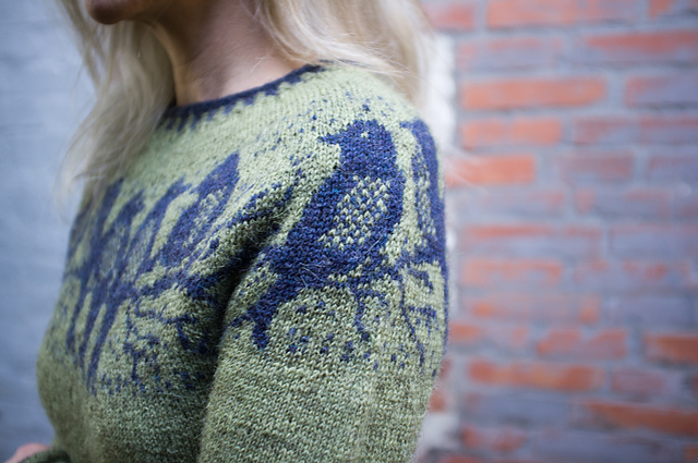 Knit a Birdsong Sweater, Designed By Maschenwunder Manja Vogelsang