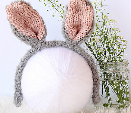Free Knit Bunny Ears Pattern … So Adorable!