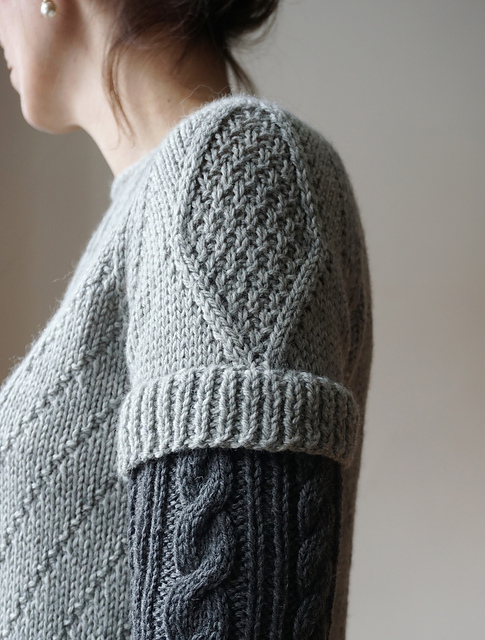 Stephanie Earp's New Knit Sweater Pattern Features a Cool Double Sleeve Detail