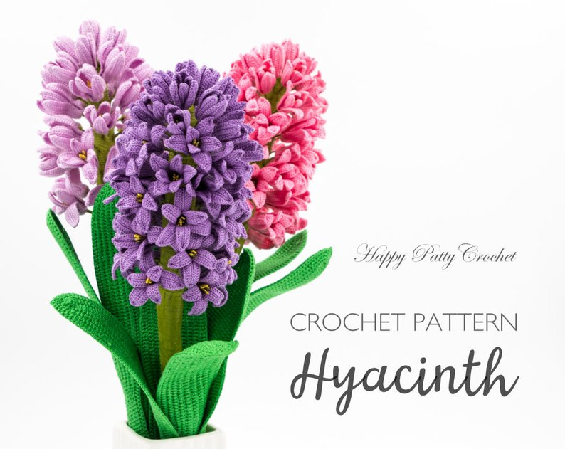 Get the pattern from Happy Patty Crochet