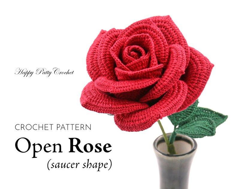 Designer Spotlight: Realistic-Looking Flower Patterns Designed By Happy Patty Crochet
