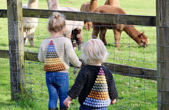 Crochet The Prism Cardigan, An Amazing and Colorful Sweater for Little Kids … No Fair, I Want One!