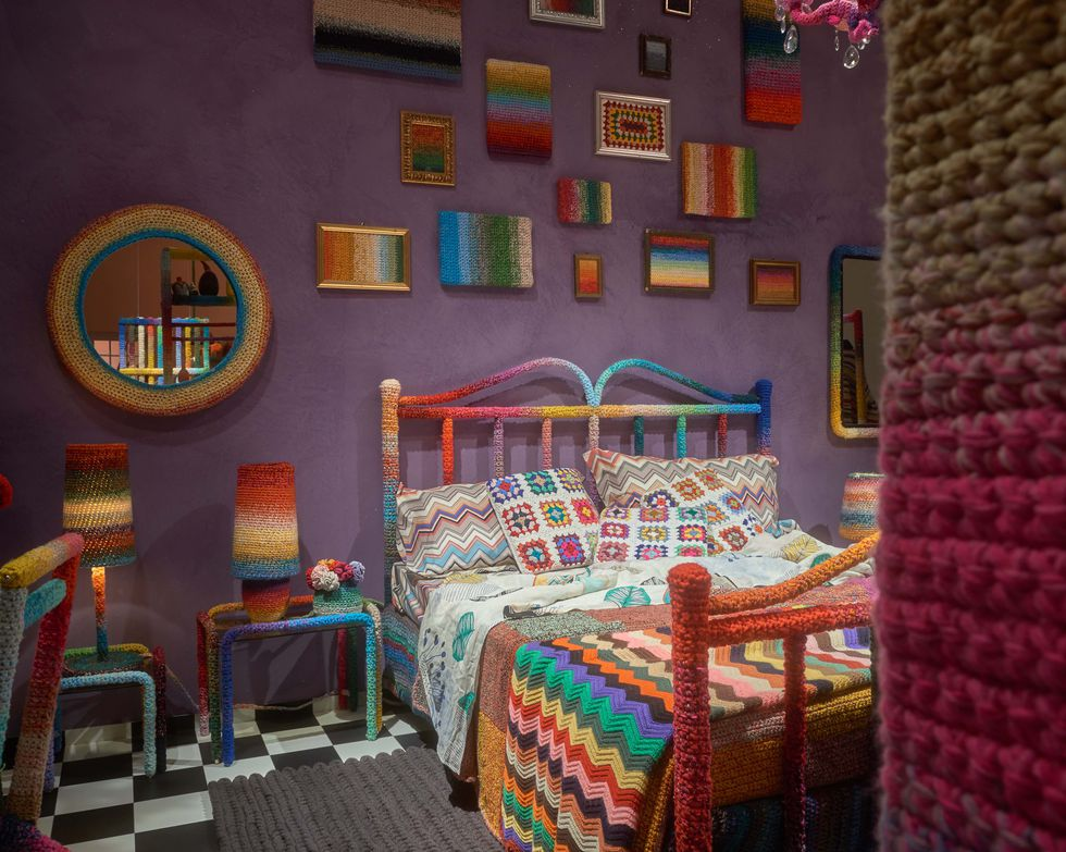 Meet 'The Home Sweet Home' Project, Missoni Home's Crochet Collaboration With Fiber Artist Alessandra Roveda