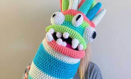 Olivia Law's Crochet Monster Alien Body Pillow Makes Me Laugh! Get The Pattern!