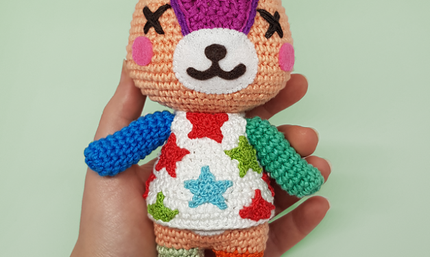 Crochet a Cute & Colorful Stitches from Animal Crossing!