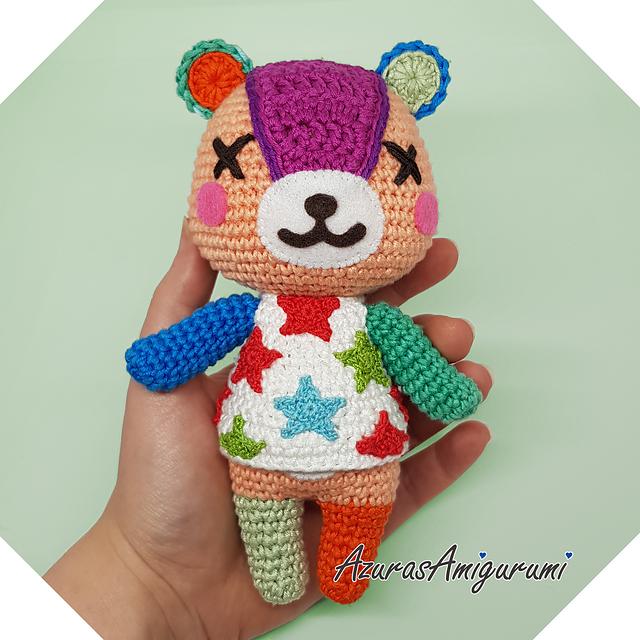 Crochet a Cute & Colorful Amigurumi Teddy Bear