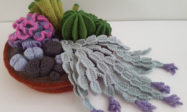 Crochet a Cactus Garden With This Free Pattern From Artefacts