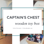 Review: Captain's Chest Wooden Toy Box From Little Colorado – It's The Perfect Storage For Yarn!