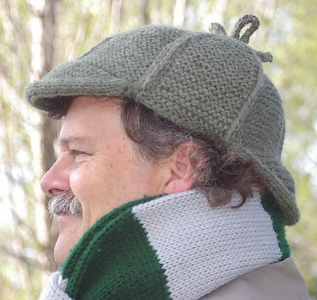 Knit a Sherlock Holmes Hat ... Elementary, My Dear Watson!
