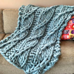 Free Pattern: Knit a Pendere Cable Blanket … Big Knitting at it's BEST!