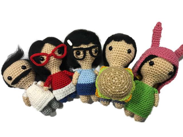 Check Out These Bob's Burgers-Inspired Amigurumi Patterns! So Wee, So Crochet!