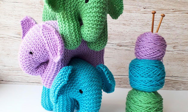 Knit a Baby Elephant … So Adorable … Hello Best Baby Gift Ever