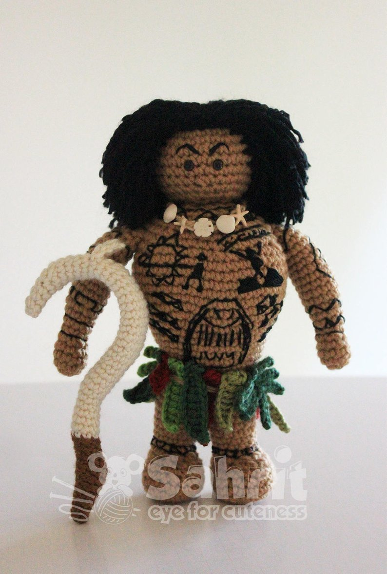 Get the Moana-inspired pattern