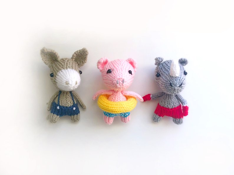 Get the pattern from KnitterBees
