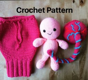 Get the placenta pattern on Etsy