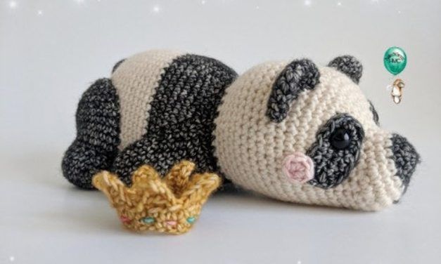 Crochet a Pip the Panda Amigurumi and His Charming Friends!