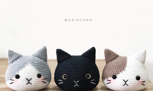 Adorable Cat Head Amigurumi Patterns For Crocheters