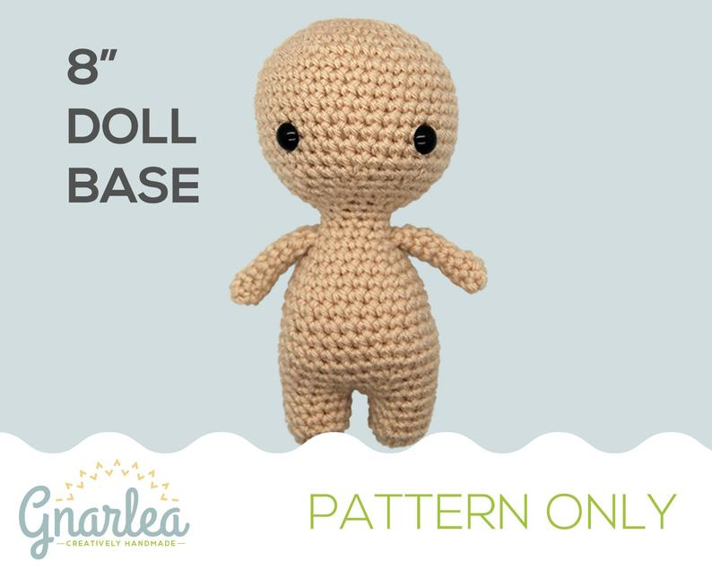 Crochet pattern by Gnarlea #crochet #amigurumi