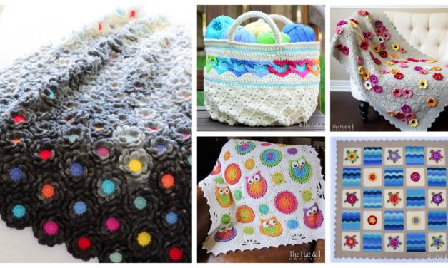 Designer Spotlight: Beautiful Blankets & Bags – Patterns Designed By Marken of Hat and I