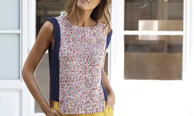Knit The Perfect Summer Tank Top, Fine For Beginners!