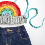Crochet a Baby Rainbow Crop Top … FREE Pattern!