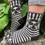 Knit a Pair of Fun Lemur Socks Designed By Jenny Penny … All Hail Julien!